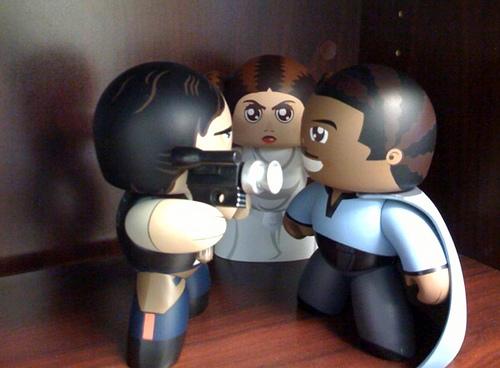 Han Solo w/ Lando Calrissian